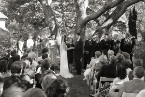 Our wedding ceremony