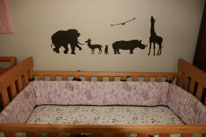 Safari Theme Crib