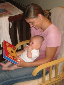 Reading with Aunt Jeanna