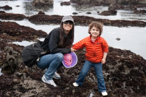M enjoying tide pools